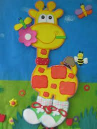 Resultado de imagen para jirafa en foami