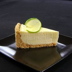 One Perfect Bite: Key Lime Cheesecake <<--- what a coincidence, someone asked about this. Key Lime Cheesecake, Cheesecake Recipes, Dessert Recipes, Lunch Recipes, Dinner Recipes, Just Desserts, Delicious Desserts, Yummy Food, Quiches