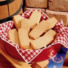 Shortbread is a classic Scottish dessert. Although shortbread was prepared during much of the 12th century, the refinement of shortbread is credited to Mary, Queen of Scots in the 16th century. In Shetland, it is traditional to break a decorated shortbread cake over the head of a new bride on the entrance of her new house.