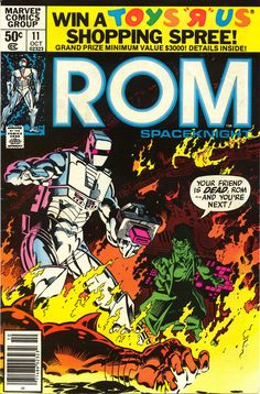 ROM 11, October 1980, cover by Michael Golden