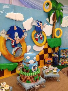 Sonic the Hedgehog Birthday Party Ideas | Photo 8 of 24