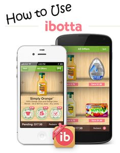 How to use Ibotta ~ a Step-by-Step Picture Guide!  Ibotta is a FREE app for Apple & Android phones that is full of Ecoupons!!  No more clipping.......just scan and save!