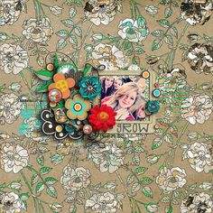 Art Blooms, page created by Jenn (Scrapmatters CT)