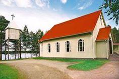 VUOKIN KIRKKO. Suomussalmi - Kirkot ja tsasounat