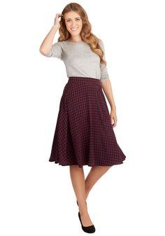 Always Memorable Skirt | Mod Retro Vintage Skirts | ModCloth.com