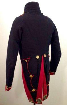 Giacca da ufficiale dei cacciatori a piedi della guardia imperiale francese