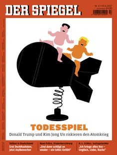 Meet the Artist behind Der Spiegel's Viral Trump Covers Edel Rodriguez for DER SPIEGEL.