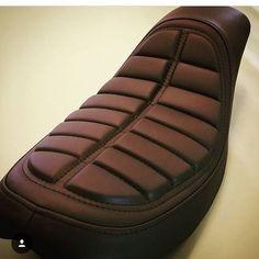 Custom motorcycle seat