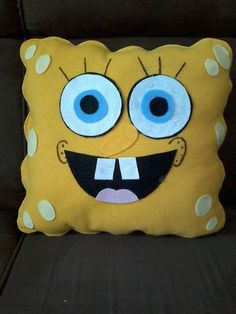 Best Pillows For Back Sleepers Baby Pillows, Kids Pillows, Animal Pillows, Felt Crafts, Fabric Crafts, Diy And Crafts, Crafts For Kids, Sewing Toys, Sewing Crafts