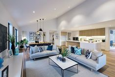 Lounge Seating area in kitchen breakfast room – aliceptpint. Open Plan Kitchen Dining Living, Open Plan Kitchen Diner, Small Open Plan Kitchens, Open Plan Living, Living Room Kitchen, Home Living Room, Living Room Designs, Living Spaces, Kitchen With Seating Area