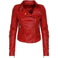 Red Leather Jacket and other apparel, accessories and trends. Browse and shop 8 related looks.