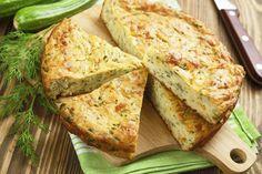 Crustless Zucchini Pie - The Spice & Tea Shoppe Paleo Zucchini Recipes, Zucchini Pie, Zucchini Torta Recipe, Vegetable Pie, Vegetable Dishes, Crustless Pie Recipe, Pie Shop, Sweet Spice, Greek Recipes