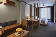 Junior suite. Viceroy New York. Midtown oasis with downtown allure. By Hotelied.