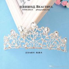 European Bridal Tiaras Baroque Luxury Waters Drop Crystal Cheap Crowns 2016 Queen Diamond Headdress Princess Handmade Hair Accessories Online with $9.64/Piece on Yaostore's Store | DHgate.com