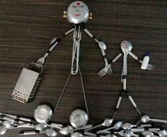 Measuring Spoons, Utensils, Creativity, Eye, Board, Flatware, Dishes, Kitchen Utensils, Planks