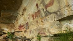 The Drakensberg rocks are known for their galleries of unique cave paintings by the ancient San hunter-gatherers, who left rare glimpses of their lifestyle and beliefs on rocky overhangs about 30,000 years ago