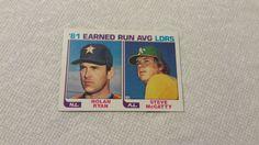 Nolan Ryan single baseball card
