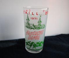 Kentucky Derby 1971 Libbey Julep Glass