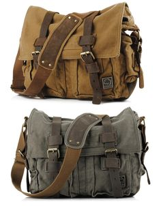 Marc Jacobs Military Style Messenger Bag