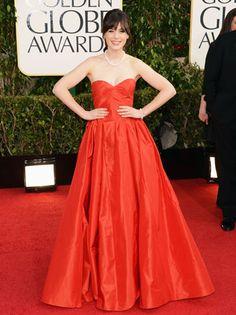 Golden Globes 2013: Zooey Deschanel