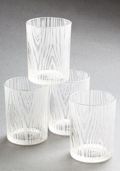 Bark Benchmark Glass Set