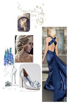"""Cinderella"" by evachasioti ❤ liked on Polyvore"