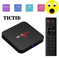 #super #TICTID M9C max Android 6.0 TV Box Amlogic S905X Chipset [2G DDR3/16G eMMC] System Config: CPU: S905X quad-core cortex-A53 frequency :2.0G GPU: Mali-450 5...