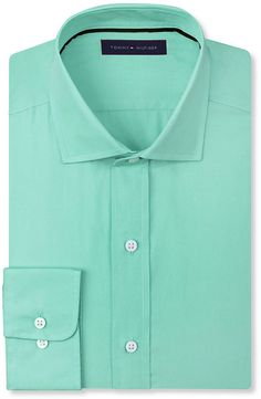 Mint Longsleeve Shirt by Tommy Hilfiger. Buy for $69 from Macy's