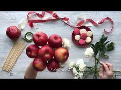 Candy Bouquet Diy, Food Bouquet, Flower Bouquet Diy, Diy Flowers, Flower Decorations, Paper Flowers, Fruit Flower Basket, Vegetable Bouquet, Edible Bouquets