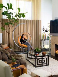 gemütliches Wohnzimmer einrichten Ideen Möbel Design