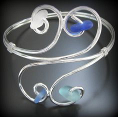 Quad Swirl Bangle | Bangles | Bracelets | Jewelry | West Coast Sea Glass