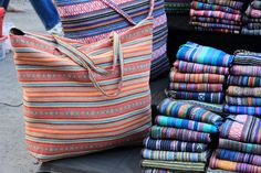 we should order cotton or silk bag made out of MMR longy Chiang Mai's Sunday Night Market - Thailand