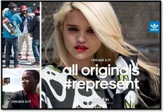 adidas All Originals Represent invita a tu grupo de amigos a representar la marca