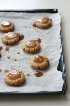 Glazed Maple Cookies