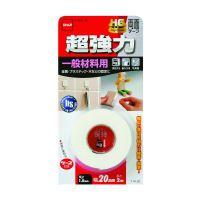ニトムズ 超強力両面テープ 一般材料用HG T4120 20mm×2M [CR]|すべての商品の最安値