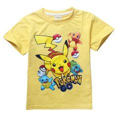 45ff92d0c Boys clothes baby POKEMON GO children t shirts girls tops pikachu kids t- shirt summer baby clothing roupas infantis menino - EverythingBuyOnline  Store