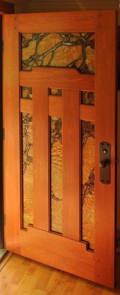 Craftsman Door Company • Martinez, CA • (707) 499-9347 • shawn@craftsmandoorcompany.com © 2014 Craftsman Door Company. All rights reserved. Craftsman Style Decor, Craftsman Lighting, Craftsman Interior, Interior Barn Doors, Craftsman Front Doors, Wood Front Doors, Entry Doors, Art Nouveau, Arts And Crafts Furniture