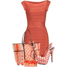 A fashion look from March 2013 featuring French Connection dresses, Bebe pumps and Rafé New York tote bags. Browse and shop related looks.