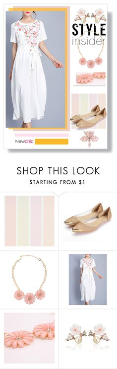 """Hot Summer 2 # Newchic"" by lovenewchic ❤ liked on Polyvore featuring White Label and vintage"