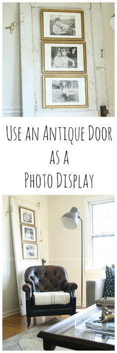 Use a Door as a Photo Display