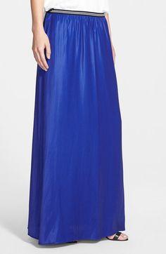 Trouvé Soft Maxi Skirt | Nordstrom