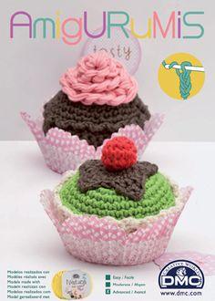 Crochet Amigurumis kit - contains:  12 skeins of Natura yarn (enough to make 3 - 4 designs), Size 3 aluminium crochet hook