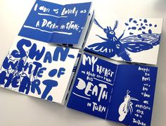 Charles BaudelaireBeauty La Beauté silkscreen book, size edition of Graphisches Design, Buch Design, Layout Design, Print Design, Print Layout, Typography Design, Branding Design, Mise En Page Magazine, Design Editorial