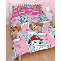 Paw Patrol Stars Double Size Quilt cover set. Available at Kids Mega Mart online shop Australia www.kidsmegamart.com.au