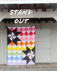 Stand Out Quilt Along – Week 7 – Riley Blake Designs Modern Quilt Blocks, Modern Quilting, Christopher Thompson, Riley Blake, Quilting Tips, Happy Holidays, Quilts, Sewing, Outdoor Decor