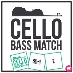 Cello Bass Clef Range - Memory & Matching Card Game for Strings Music Education Activities, Teacher Resources, Teacher Pay Teachers, Teaching Ideas, Teaching Orchestra, Teaching Music, Elementary Music, Elementary Education, Middle School Music