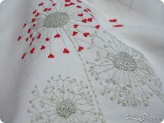Embroidery - BEAUTIFUL work! inspiring blog