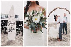 Bohemian Surf Fiesta Beach Wedding