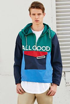 All Good Newport Anorak Jacket | 21 MEN - 2000162880