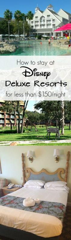 About five years ago I discovered a way to stay at Disney World Deluxe Resorts for a small fraction of what you'd pay by booking directly through Disney. Th